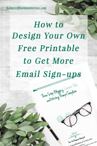 Design your own printable