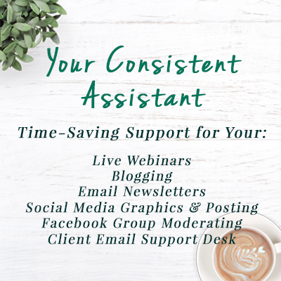 Your Consistent Assistant - more time with list of services - Virtual Assistant Services